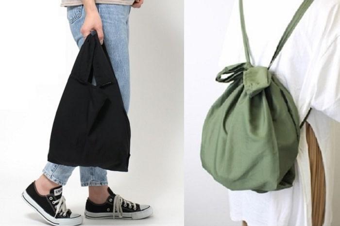 レジ袋感覚で使える!「レジ袋型エコバッグ」はリュックにもなって超便利!