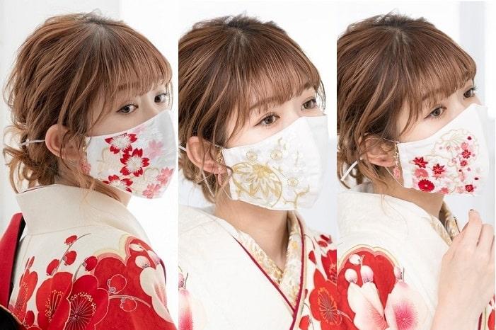 卒業式は「晴れ着マスク」でGO!袴にぴったりな写真映えマスク特集!