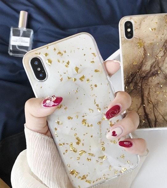 大理石 iPhoneケース