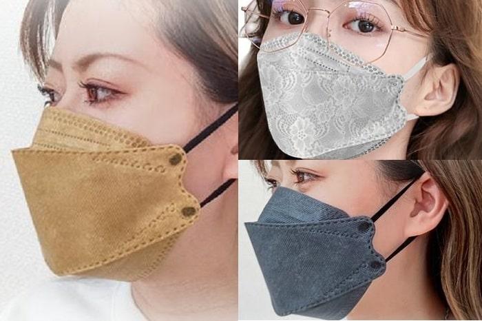 「韓国マスク」は呼吸がしやすい&飛沫防止力が高い?!おしゃれデザイン4選!