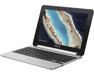 ASUS JAPAN NB/シルバー/10.1″WXGA 1280×800(Touch グレア)/OP1/4G/16G eMMC/802.11AC/BT4.0/Chrome OS C101PA-OP1