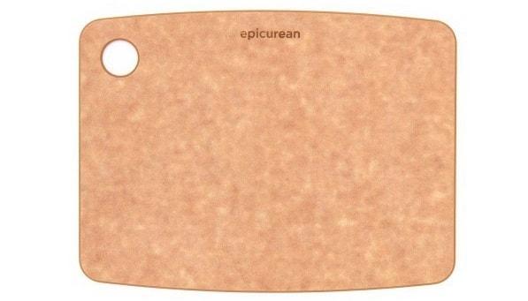 カッティングボード 10806N 木製 まな板 ナチュラル エピキュリアン 食洗機対応 S