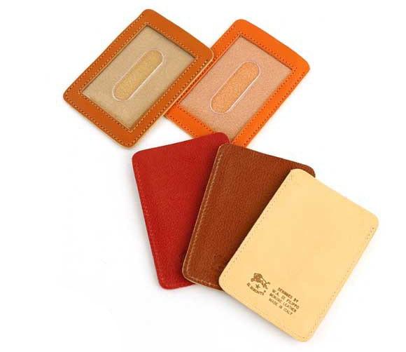 イルビゾンテ レザー カードケース 定期入れ パスケース