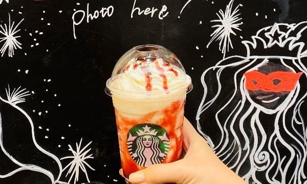 【スタバ新作】ハロウィンフラペチーノに〇〇を足すと激ウマだった!