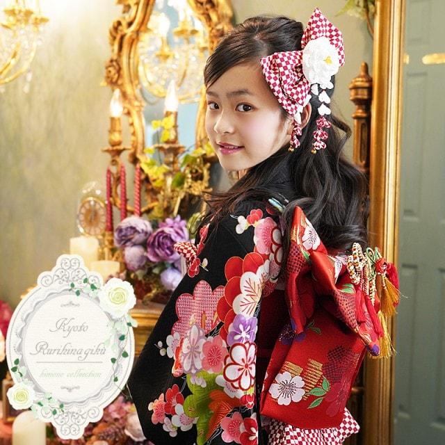高級正絹|千鶴(ちづる)・四ツ身|7歳向け