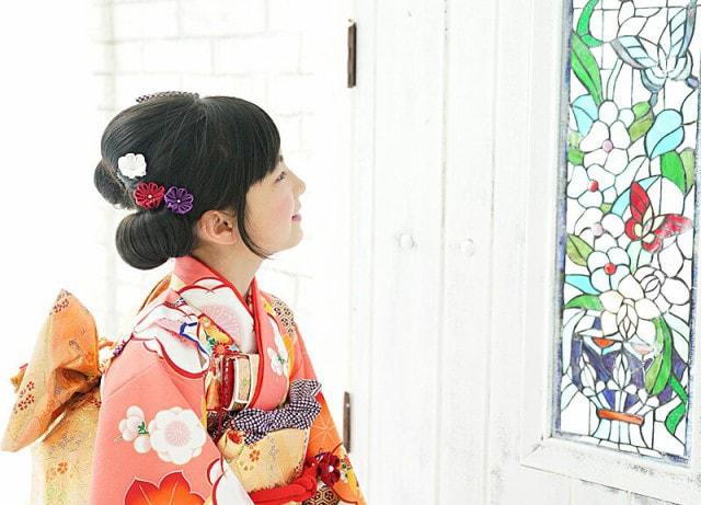 つまみ・Uピン|七五三髪飾り