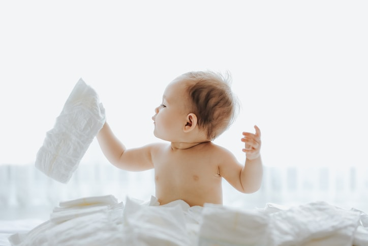 新生児の肌に合ったものを選ぶ