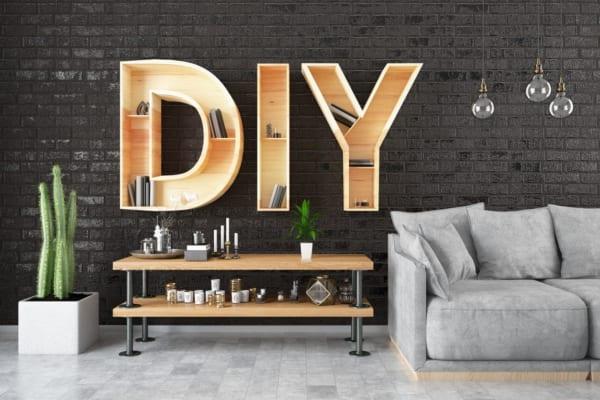 賃貸でもOK!DIYでおしゃれな壁・収納棚を作るアイデア8選