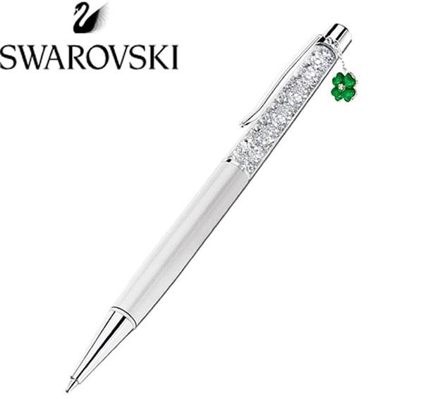 スワロフスキー(SWAROVSKI) レディースボールペン クローバー