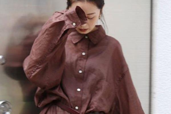 この秋は【カブらないブラウン服】が欲しい!~ひと癖素材編~