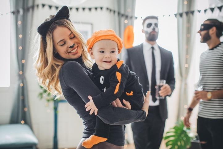 赤ちゃんのハロウィン写真を撮ろう