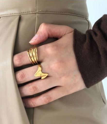 TODAYFUL トゥデイフル 19秋冬 1月中旬予約 Coil Ring (Silver925) コイルリング シルバーリング リング ゴールド