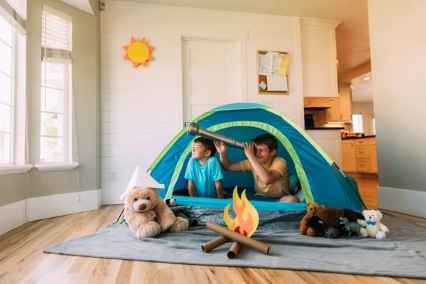 アウトドアが無理なら「家キャン」しちゃえ!手軽に楽しめる自宅用キャンプグッズ