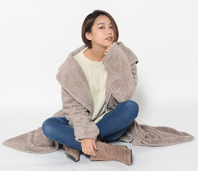 モコボア着る毛布