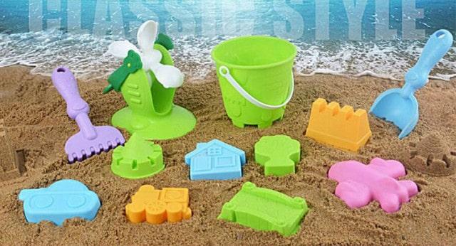 ララバイ 砂遊び12セット