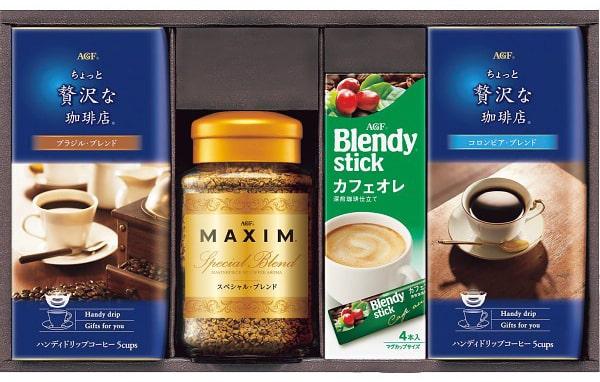 AGF ドリップ&インスタントコーヒーギフト