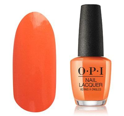 OPI(オーピーアイ)ネイルカラーNLG43 ピーチオレンジ