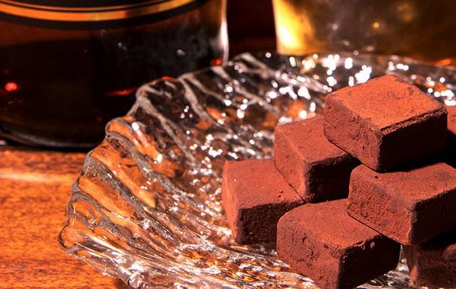 ウィスキー生チョコレート