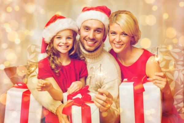 家族みんなでHAPPYで楽しいクリスマスを過ごそう☆