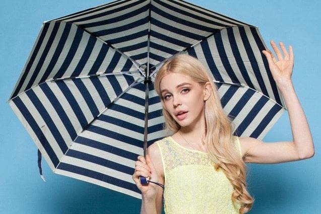 雨の日だっておしゃれに!センスが光るおすすめ折りたたみ傘8選!
