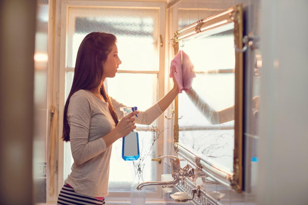 まさに洗面所改革!スチームクリーナー&便利アイテムで快適空間に