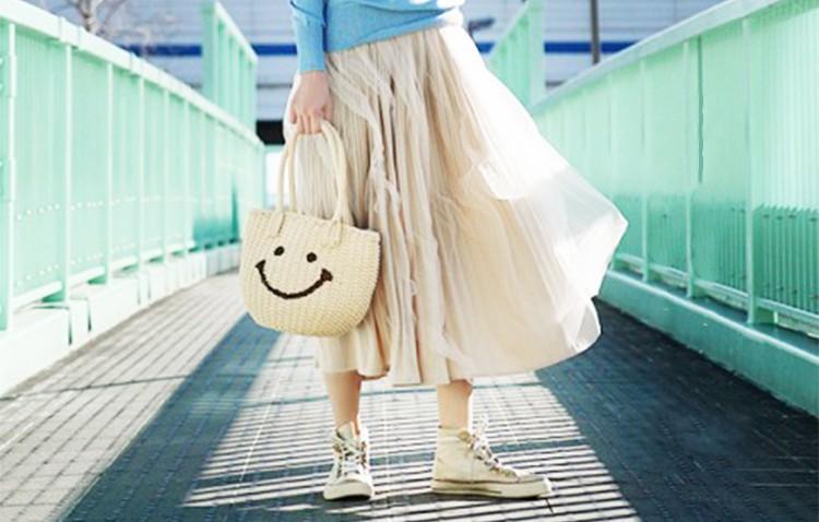 夏は【プリーツスカート】でカジュアルトータルコーディネート♡
