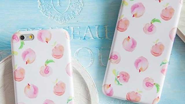 この春、爽やかなフルーツデザインの手帳型スマホケースが人気!