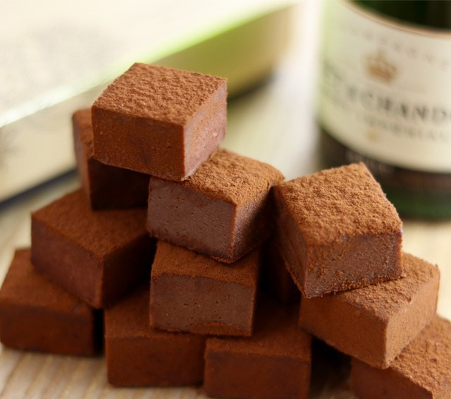 シャンパンとチョコレート