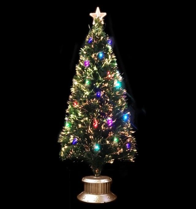 クリスマスツリー グリーンファイバーツリー