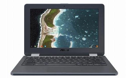 "ASUS JAPAN NB/ダークグレー/11.6"" 1366x768(Touch)/N3350/4G/32G eMMC/802.11AC/BT4.0/Chrome OS C213NA-N3350"