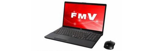 富士通 ノートパソコン FmV LIFEBOOK AH77/C2 ブライトブラック FmVA77C2B