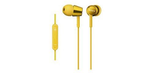 ソニー MDR-EX150IP-Y iPod/iPhone/iPad対応ダイナミック密閉型 インナーイヤーイヤホン (イエロー)
