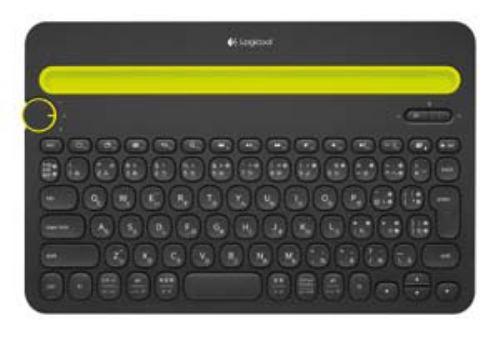 ロジクール マルチデバイス対応 Bluetooth キーボード