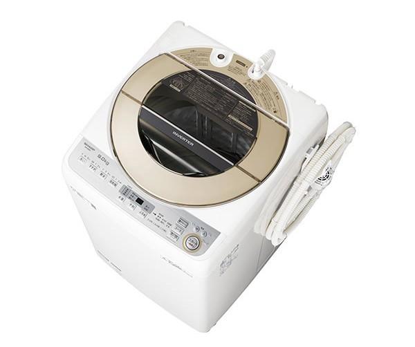 シャープ 全自動洗濯機 穴なし槽 9kg
