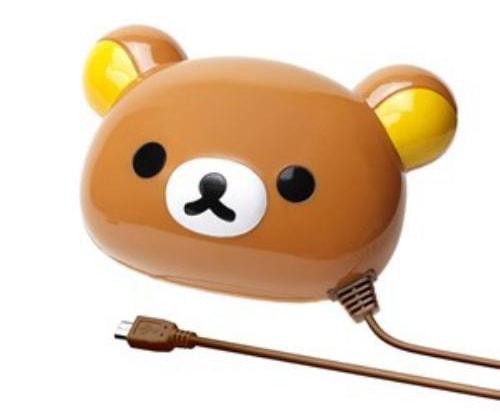 かわいい キャラクター モバイルバッテリー