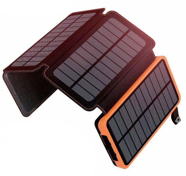 ソーラー モバイルバッテリー