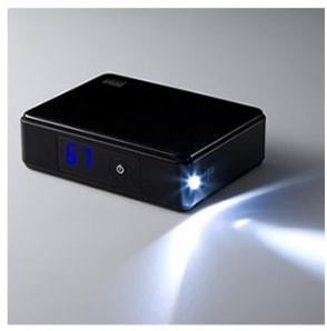 LEDライト搭載 モバイルバッテリー