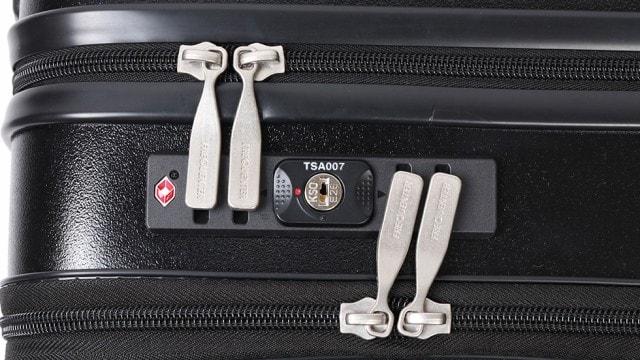 シリンダータイプ スーツケース