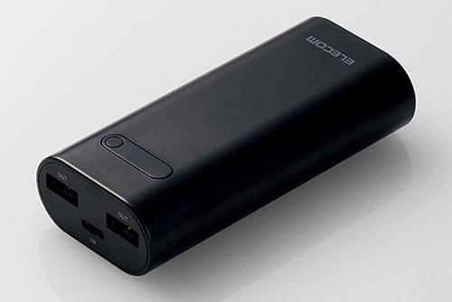 複数端子対応 モバイルバッテリー