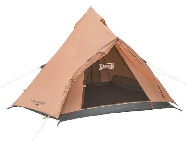 ワンポール(モノポール)/ティピー型 テント