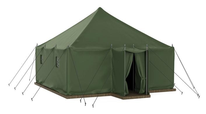 ロッジ型 テント