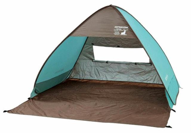 ポップアップ型 テント