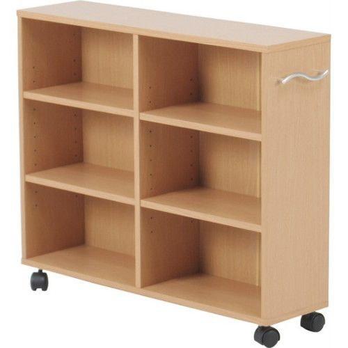 本棚 書棚 押し入れ収納 ラック 20cm幅 ナチュラル