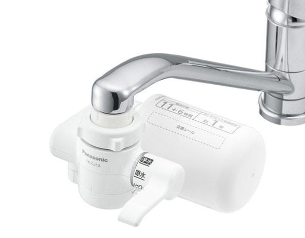 蛇口直結型浄水器