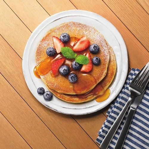 朝食にもおやつにも♡グルテンフリーパンケーキ