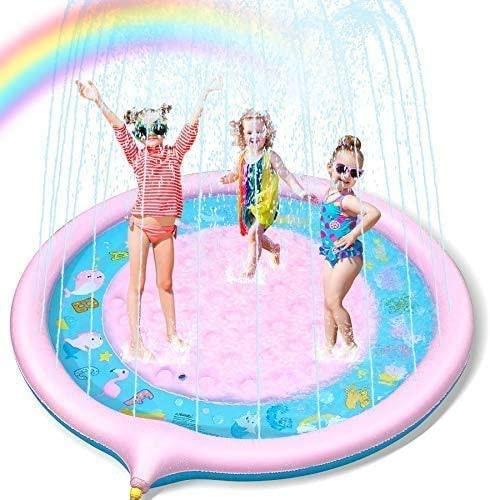 Lenbest 噴水マット プレイマット 噴水プール
