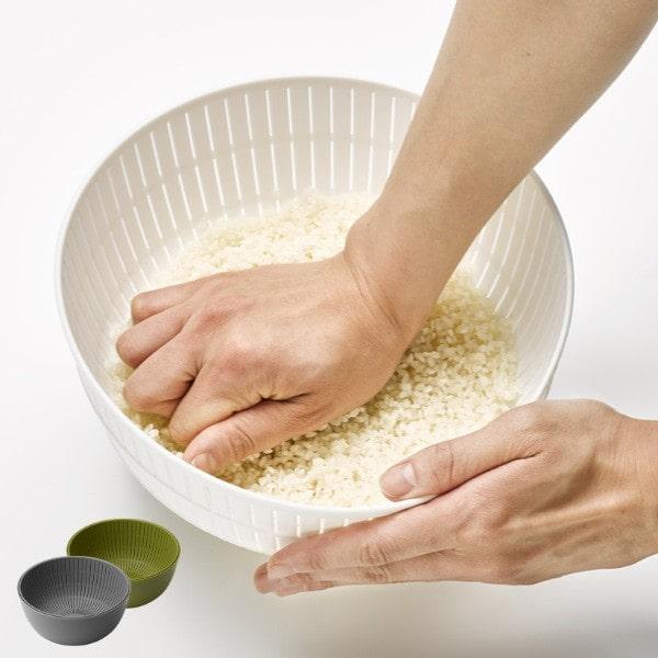 お米が美味しく研げるザルとボウル