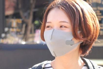マスクに取り付けて快適生活
