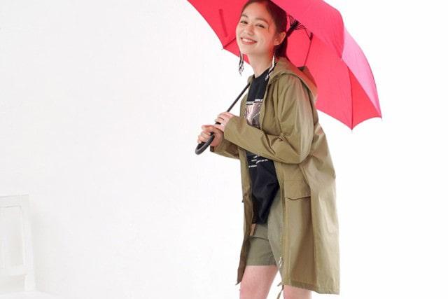 えっ!これがレインコート?モッズコート風なら晴雨兼用でヘビロテできちゃう!
