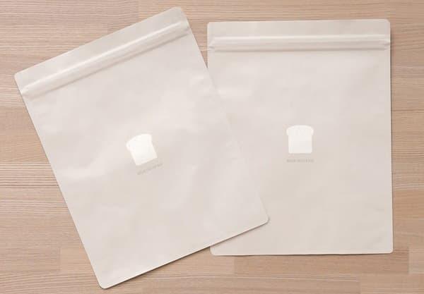 MARNA (マーナ)パン冷凍保存袋 ベージュ 2枚入り K766
